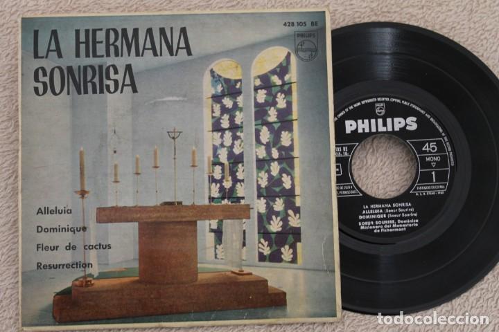 LA HERMANA SONRISA ALLELUIA EP VINYL MADE IN SPAIN 1962 (Música - Discos de Vinilo - EPs - Otros estilos)