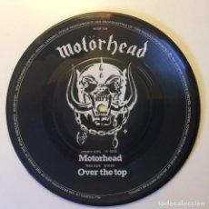 Discos de vinilo: MOTÖRHEAD – MOTORHEAD / OVER THE TOP UK 1981 BRONZE. Lote 200057142