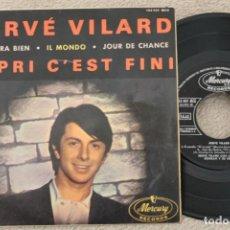 Discos de vinilo: HERVE VILARD CAPRI C'EST FINI EP VINYL MADE IN SPAIN 1964. Lote 200093642