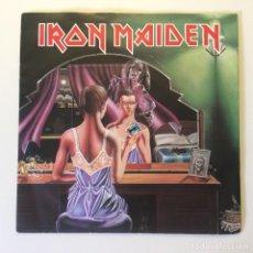 Discos de vinilo: IRON MAIDEN ?– TWILIGHT ZONE / WRATHCHILD UK 1981 EMI. Lote 200094100
