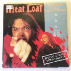 Discos de vinilo: MEAT LOAF ?– MIDNIGHT AT THE LOST AND FOUND 2 X VINYL UK 1983 EPIC. Lote 200095106