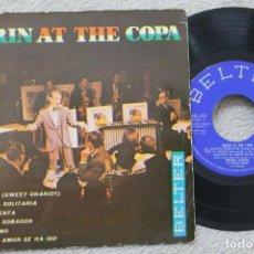Discos de vinilo: BOBBY DARIN DARIN AT THE COPA EP VINYL MADE IN SPAIN 1961. Lote 200095822