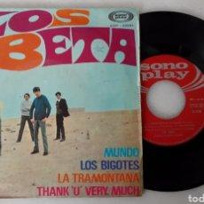Discos de vinilo: LOS BETA EP MUNDO +3. Lote 200097005