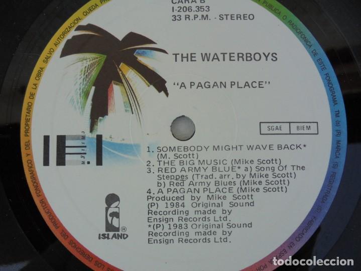 Discos de vinilo: THE WATERBOYS. A PAGAN PLACE. LP VINILO. ARIOLA EURODISC. 1984. - Foto 6 - 200101218