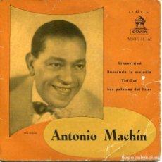 Dischi in vinile: ANTONIO MACHIN / SINCERIDAD + 3 (EP 1958) . Lote 200109993