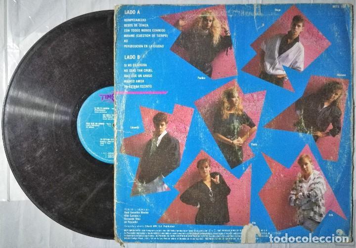 Discos de vinilo: Timbiriche - 7 - 1987 Mexico - Foto 2 - 200120287