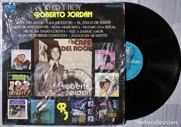 ROBERTO JORDÁN - AYER Y HOY - 1978 MEXICO (Música - Discos de Vinilo - Singles - Pop - Rock Extranjero de los 80)