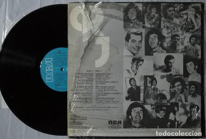 Discos de vinilo: Roberto Jordán - Ayer Y Hoy - 1978 Mexico - Foto 2 - 200122811