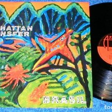 Discos de vinilo: THE MANHATTAN TRANSFER SPAIN LP 1987 BRASIL SMOOTH LATIN JAZZ SWING POP EXCELENTE ESTADO. Lote 200123953