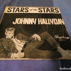 Discos de vinilo: JOHNNY HALLYDAY THE RARE 1965 PERGOLA CIRCULO DE LECTORES SPAIN EP!. Lote 200133561