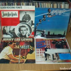 Discos de vinilo: LOTE 8 LP'S JERRY LEE LEWIS, DOMINO ETC.. ROCK AND ROLL. Lote 200135128