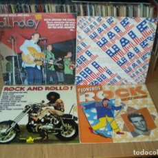 Discos de vinilo: LOTE 8 LP'S ROCK AND ROLL BILL HALLEY.- EDDIE COCHRAN.- TEEN TOPS.- SLEEPY LABEEF.... Lote 200135971