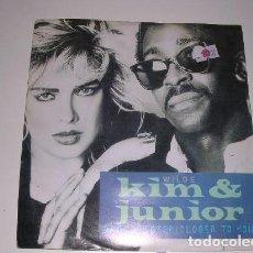 Discos de vinilo: KIM WILDE AND JUNIOR ANOTHER STEP (CLOSER TO YOU). Lote 200136230