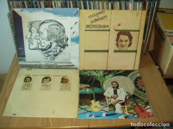 LOTE 8 LP'S MUSICA BRASILEÑA Y LATINA (Música - Discos - LP Vinilo - Grupos y Solistas de latinoamérica)