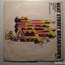 Dischi in vinile: GRANDMASTER MELLE MEL AND THE FURIOUS FIVE BEAT STREET BREAKDOWN PART 1 / PART 2 1984. Lote 200144966