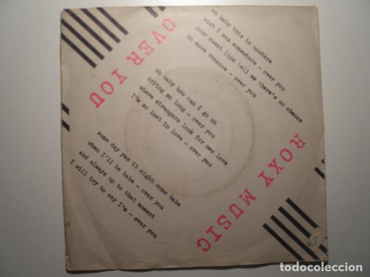 ROXY MUSIC OVER YOU / MANIFESTO 1980 (Música - Discos - Singles Vinilo - Otros estilos)