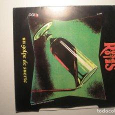 Discos de vinilo: ROSAS ROJAS UN GOLPE DE SUERTE 1991 PROMO. Lote 200145826