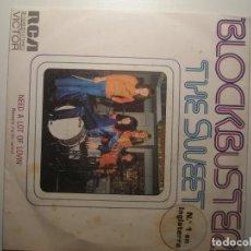 Discos de vinilo: THE SWEET BLOCKBUSTER / NEED A LOT OF DOWN NECESITO MUCHO CARIÑO 1973. Lote 200145866