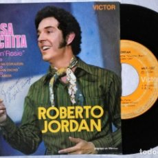 Discos de vinilo: ROBERTO JORDÁN ROSA MARCHITA / VIEJO AMOR / QUE TE HAN DICHO + 1 1971 MÉXICO (RARO). Lote 200155718