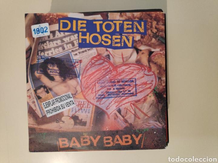 NT DIE TOTEN HOSEN - BABY BABY 1991 SINGLE VINILO PROMO PROMOCIONAL GERMANY PUNK (Música - Discos - Singles Vinilo - Punk - Hard Core)
