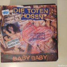 Disques de vinyle: NT DIE TOTEN HOSEN - BABY BABY 1991 SINGLE VINILO PROMO PROMOCIONAL GERMANY PUNK. Lote 200161392