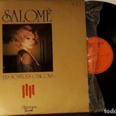Discos de vinilo: SALOMÉ - LES NOSTRES CANÇONS. Lote 200164825