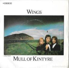 Disques de vinyle: PAUL MCCARTNEY / WINGS (THE BEATLES): MULL OF KINTYRE / GIRLS SCHOOL. Lote 200165973