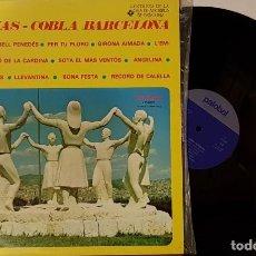 Discos de vinilo: SARDANES - COBLA DE BARCELONA . Lote 200174736