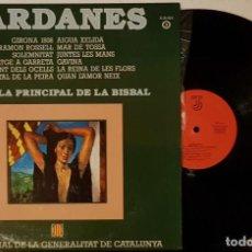 Discos de vinilo: SARANES - COBLA PRINCIPAL DE LA BISBAL - COBLA OFICIAL DE LA GENERALITAT DE CATALUNYA. Lote 200175005