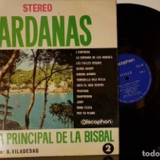 Discos de vinilo: SARDANAS COBLA LA PRINCIPAL DE LA BISBAL N2. Lote 200178756