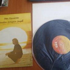 Discos de vinilo: NEIL DIAMOND JONATHAN LIVINGSTON SEAGULL 1973 CON LIBRITO LETRAS Y FOTOS. Lote 200180763