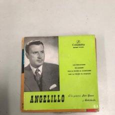 Discos de vinilo: ANGELILLO. Lote 200181143