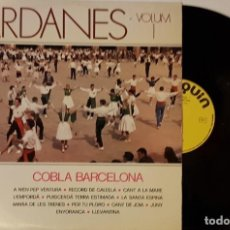 Discos de vinilo: SARDANES VOL1 COBLA BARCELONA. Lote 200181283
