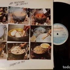 Discos de vinilo: ELS PECADORS DE L´ESCALA - SUQUET DE PEIX. Lote 200181765