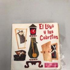 Discos de vinilo: EL LOBO Y LAS CABRITAS. Lote 200183451