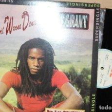 Discos de vinilo: EDDY GRANT / I DON´T WANNA DANCE / 1982 ICE PRT A 12.3100 REGGAE POP SUPER SINGLE. Lote 200184777
