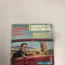 Discos de vinilo: MANOLO ESCOBAR. Lote 200189265