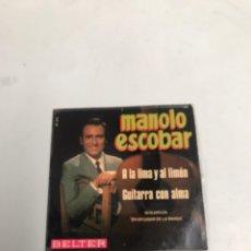 Discos de vinilo: MANOLO ESCOBAR. Lote 200189273
