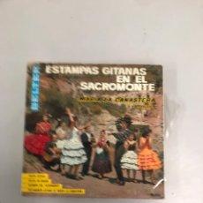 Discos de vinilo: ESTAMPAS GITANAS EN EL SACROMONTE. Lote 200189297
