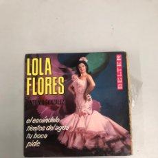 Discos de vinilo: LOLA FLORES. Lote 200189306