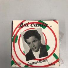 Discos de vinilo: ANTONIO MOLINA. Lote 200189310