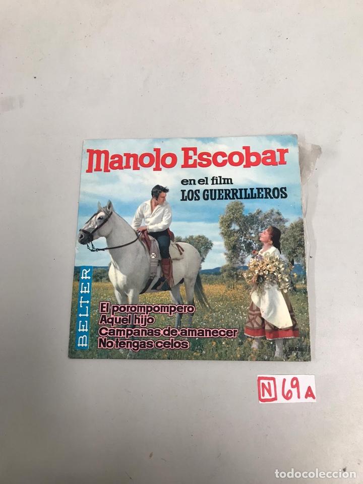 MANOLO ESCOBAR (Música - Discos de Vinilo - Maxi Singles - Cantautores Españoles)