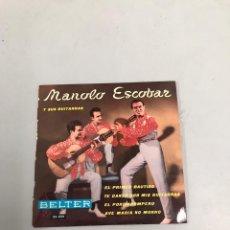 Discos de vinilo: MANOLO ESCOBAR. Lote 200189328