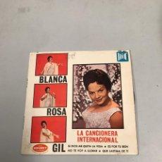 Discos de vinilo: BLANCA ROSA GIL. Lote 200194175