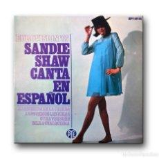 Dischi in vinile: SANDIE SHAW - EUROVISION '67 - CANTA EN ESPAÑOL. Lote 200194572