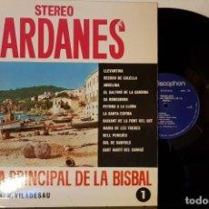 Discos de vinilo: SARDANES - COBLA LA PRINCIPAL DE LA BISBAL- TENORA SOLISTA : R, VILADESAU VOL 1. Lote 200197668