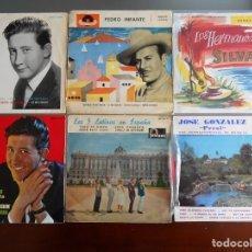Discos de vinilo: LOTE DE 6 EPES VARIOS INTERPRETES.. Lote 200239761