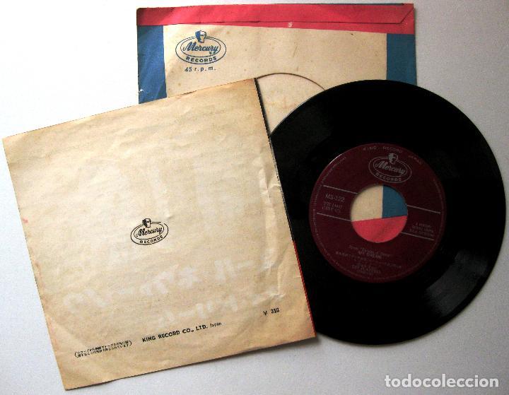 Discos de vinilo: The Platters - Youll Never Never Know / My Dream - Single Mercury 1960 Japan BPY - Foto 2 - 200261932