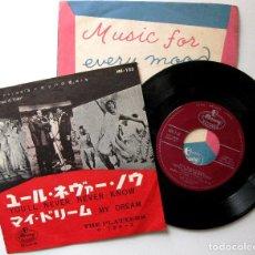 Discos de vinilo: THE PLATTERS - YOU'LL NEVER NEVER KNOW / MY DREAM - SINGLE MERCURY 1960 JAPAN BPY. Lote 200261932