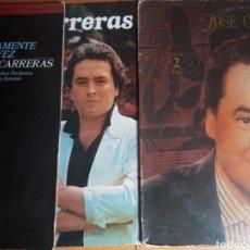 Discos de vinilo: LOTE DISCOS CARRERAS. Lote 200262316